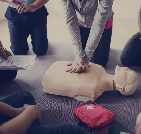 CPR-AED-training